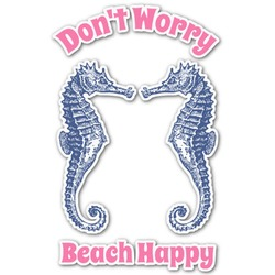 Sea Horses Graphic Decal - Medium (Personalized)