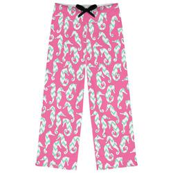 Sea Horses Womens Pajama Pants (Personalized)