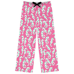 Sea Horses Womens Pajama Pants (Personalized)