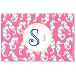 Sea Horses Woven Mat (Personalized)