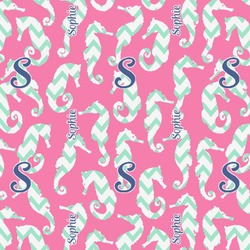 Sea Horses Wrapping Paper (Personalized)
