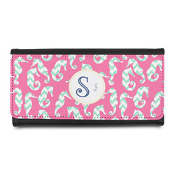 Sea Horses Leatherette Ladies Wallet (Personalized)
