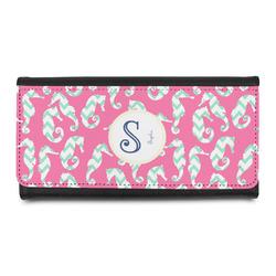 Sea Horses Leatherette Ladies Wallet (Personalized)