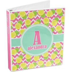Pineapples 3-Ring Binder (Personalized)
