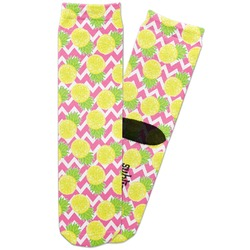 Pineapples Adult Crew Socks (Personalized)