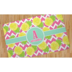 Pineapples Area Rug (Personalized)