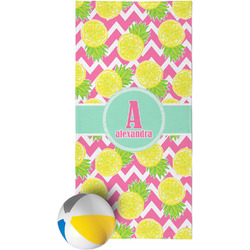 Pineapples Beach Towel (Personalized)