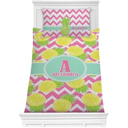 Pineapples Comforter Set - Twin (Personalized)