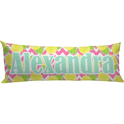 Pineapples Body Pillow Case Personalized Youcustomizeit