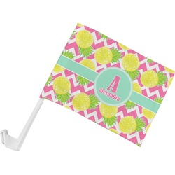 Pineapples Car Flag (Personalized)