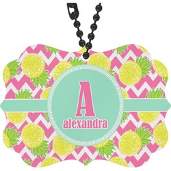 Pineapples Rear View Mirror Decor (Personalized)