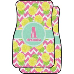 Pineapples Car Floor Mats (Front Seat) (Personalized)