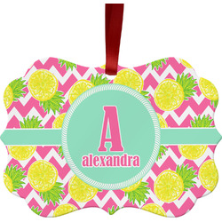 Pineapples Ornament (Personalized)