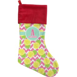 Pineapples Christmas Stocking (Personalized)