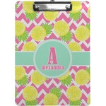 Pineapples Clipboard (Personalized)