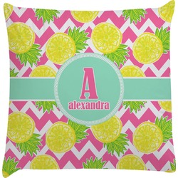 Pineapples Decorative Pillow Case (Personalized)