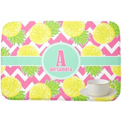 Pineapples Dish Drying Mat (Personalized)