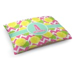 Pineapples Dog Bed (Personalized)