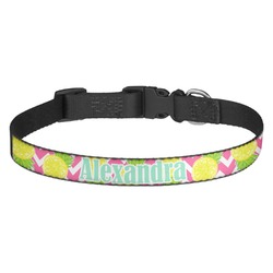 Pineapples Dog Collar (Personalized)