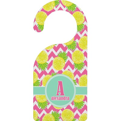 Pineapples Door Hanger (Personalized)