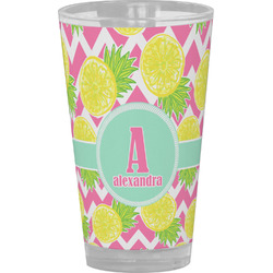 Pineapples Drinking / Pint Glass (Personalized)