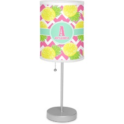 "Pineapples 7"" Drum Lamp with Shade (Personalized)"