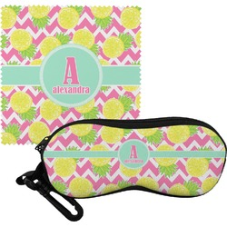 Pineapples Eyeglass Case & Cloth (Personalized)