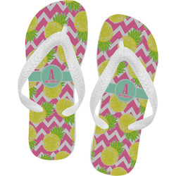 Pineapples Flip Flops (Personalized)