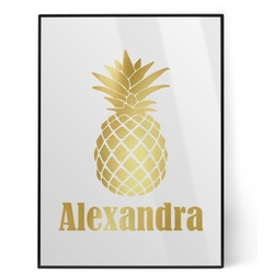 Pineapples Foil Print (Personalized)