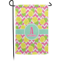Pineapples Garden Flag - Single or Double Sided (Personalized)