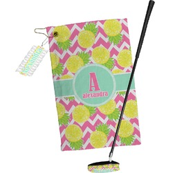 Pineapples Golf Towel Gift Set (Personalized)