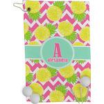 Pineapples Golf Towel - Full Print (Personalized)