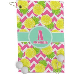 Pineapples Golf Towel - Full Print (Personalized)