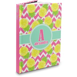 Pineapples Hardbound Journal (Personalized)