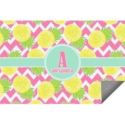 Pineapples Indoor / Outdoor Rug (Personalized)