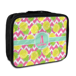 Pineapples Insulated Lunch Bag (Personalized)