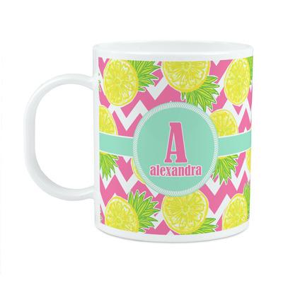 Pineapples Plastic Kids Mug (Personalized)