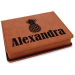 Pineapples Leatherette 4-Piece Wine Tool Set (Personalized)