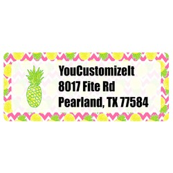 Pineapples Return Address Labels (Personalized)