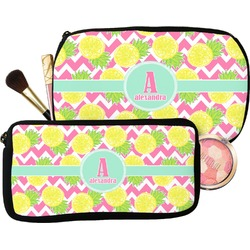 Pineapples Makeup / Cosmetic Bag (Personalized)