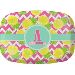 Pineapples Melamine Platter (Personalized)