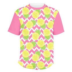 Pineapples Men's Crew T-Shirt (Personalized)