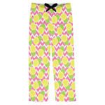 Pineapples Mens Pajama Pants (Personalized)
