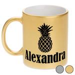 Pineapples Metallic Mug (Personalized)