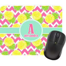 Pineapples Rectangular Mouse Pad (Personalized)