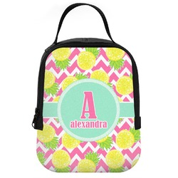 Pineapples Neoprene Lunch Tote (Personalized)