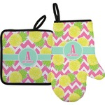 Pineapples Oven Mitt & Pot Holder (Personalized)