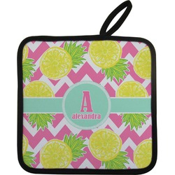 Pineapples Pot Holder (Personalized)