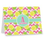 Pineapples Note cards (Personalized)