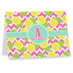Pineapples Notecards (Personalized)